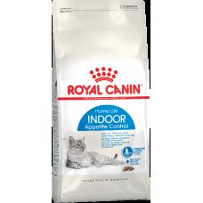 Royal Canin Indoor Appetite Control сухой корм для кошек от 1 до 7 лет живущих в помещении и склонных к перееданию