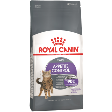 Royal Canin Appetite Control Care сухой корм для взрослых кошек для контроля выпрашивания корма, предрасположенных к набору лишнего веса, в том числе после стерилизации