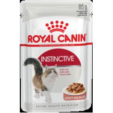Royal Canin Instinctive (в соусе, пауч) полнорационный влажный корм для кошек старше 1 года