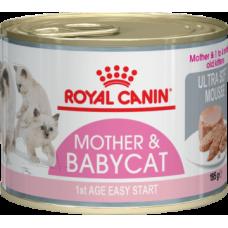 Royal Canin Mother & Babycat Instinctive (мусс, банка) влажный корм для котят до 4 месяцев