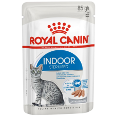 Купить Royal Canin Indoor Sterilized (паштет, пауч) влажный корм для стерилизованных кошек (в возрасте от 1 года до 7 лет), живущих в помещении