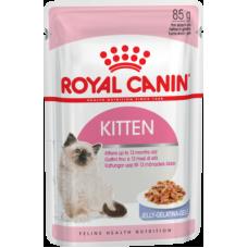 Royal Canin Kitten Instinctive (в желе, пауч) влажный корм для котят с 4 до 12 месяцев