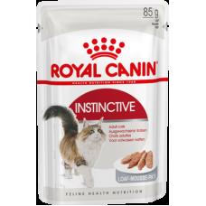 Royal Canin Instinctive (паштет, пауч) полнорационный влажный корм для кошек старше 1 года