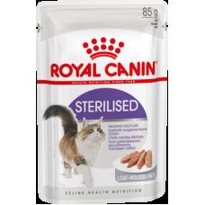 Royal Canin Sterilised (паштет, пауч) для стерилизованных кошек и кастрированных котов