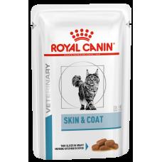 Royal Canin Skin & Coat влажный корм для кастрированных котов и стерилизованных кошек с повышенной чувствительностью кожи