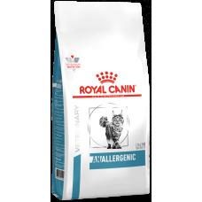 Royal Canin Anallergenic for Cat полнорационный корм для кошек при пищевой аллергии или непереносимости