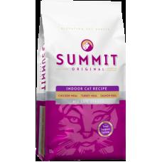 Купить Summit Holistic Original 3 Meat, Indoor Cat Recipe корм для кошек всех возрастов три вида мяса: цыпленок, лосось, индейка