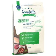 Sanabelle Sensitive with Poultry для взрослых кошек с чувствительным пищеварением с мясом птицы