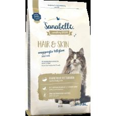 Sanabelle Hair&Skin для выставочных и привередливых кошек с мясом птицы