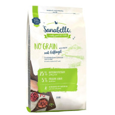 Купить Sanabelle No Grain беззерновой корм для взрослых кошек с чувствительным пищеварением