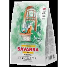 Купить Savarra Sterilised Duck Hypoallergenic гипоаллергенный корм с уткой, для стерилизованных кошек и кастрированных котов