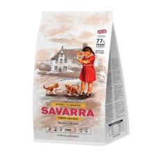 Savarra Kitten Holistic гипоаллергенный корм для котят (индейка/рис)