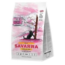 Savarra Adult Cat Holistic гипоаллергенный корм для взрослых кошек (ягненок/рис)
