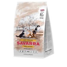 Savarra Light for a Cat  Holistic гипоаллергенный корм для взрослых кошек с избыточным весом и стерилизованных (индейка/рис)