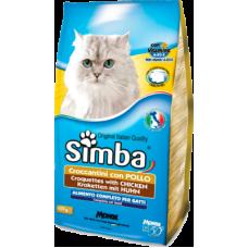 Simba Cat сухой корм для взрослых кошек всех пород с курицей