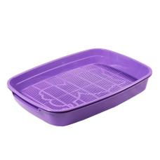 Туалет-лоток для кошек с сеткой малый, 340*260*50мм