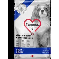 1st Choice Dental Health Adult All Breeds сухой корм для взрослых собак всех пород для поддержания оптимальной гигиены полости рта