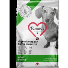 1st Choice Digestive Health Adult Toy and Small Breeds беззерновой корм с мясом курицы для взрослых собак мелких и миниатюрных пород с чувствительным пищеварением