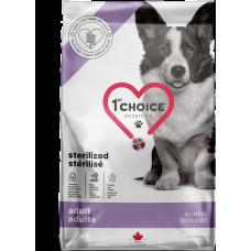 1st Choice Sterilized Adult All Breeds сухой корм с курицей для взрослых стерилизованных собак всех пород