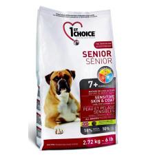 1st Choice Senior Sensitive Skin & Coat сухой корм с ягненком, рыбой и рисом для здоровья кожи и шерсти пожилых собак
