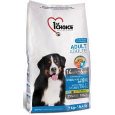 1st Choice Adult Medium&Large Breeds сухой корм с курицей для собак средних и крупных пород