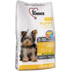 1st Choice puppy Toy&Small Breeds сухой корм с курицей для щенков миниатюрных и мелких пород