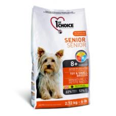 1st Choice Senior Toy & Small сухой корм с курицей для пожилых собак миниатюрных и мелких пород