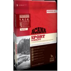Купить Acana Heritage Sport & Agility беззерновой корм с цыпленком для активных собак всех пород