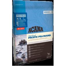 Acana Singles Pacific Pilchard беззерновой корм с тихоокеанской сардиной для собак и щенков всех пород с чувствительным пищеварением