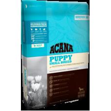 Acana Heritage Puppy Small Breed беззерновой корм с цыпленком для щенков мелких пород