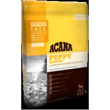 Acana  Heritage Puppy & Junior беззерновой корм с цыпленком для щенков средних пород