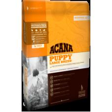 Acana Heritage Puppy Large Breed беззерновой корм с цыпленком для щенков крупных пород