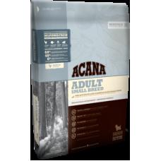 Acana Heritage Adult Small Breed беззерновой корм с цыпленком для взрослых собак мелких пород