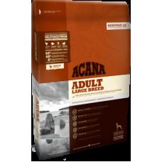 Acana Heritage Adult Large Breed беззерновой корм с цыпленком для взрослых собак крупных пород