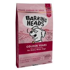 """Barking Heads полноценный сухой корм для собак старше 7 лет с курицей и рисом """"Золотые годы"""""""
