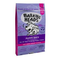 """Barking Heads сухой корм для щенков крупных пород с курицей, лососем и рисом """"Большелапый малыш"""""""