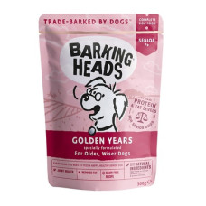 "Купить Barking Heads Golden Years паучи для собак старше 7 лет ""Золотые годы"" 300гр"