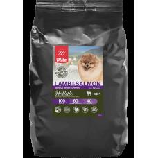 Blitz Holistic Lamb & Salmon Adult Small Breeds беззерновой сухой корм для взрослых собак мелких пород с ягненком и лососем
