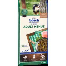 Bosch Adult Menue полноценный корм для взрослых собак со средним или повышенным уровнем активности