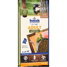 Bosch Adult Poultry&Spelt полноценный корм для взрослых собак с птицей и спельтой