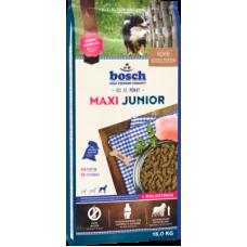 Bosch Junior Maxi полноценный рацион для щенков крупных пород с птицей