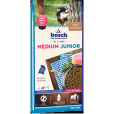Bosch Junior Medium полноценный рацион для щенков средних пород с птицей