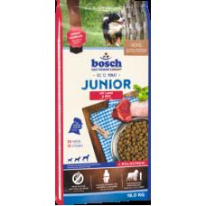 Bosch Junior Lamb & Rice полноценный рацион для щенков с ягненком для чувствительного пищеварения