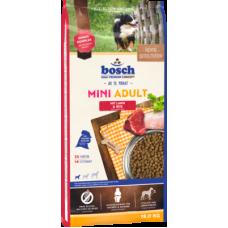 Купить Bosch Mini Adult Lamb & Rice для взрослых собак мелких пород с ягненком
