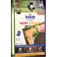 Bosch Mini Adult Poultry&Millet для взрослых собак мелких пород с птицей и просом