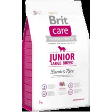 Brit Care Junior Large Breed Lamb & Rice сухой корм для щенков крупных пород, ягненок с рисом
