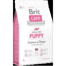 Brit Care Grain-free Puppy Salmon & Potato беззерновой корм с лососем и картофелем для щенков и молодых собак всех пород с 4 недель до 12 месяцев