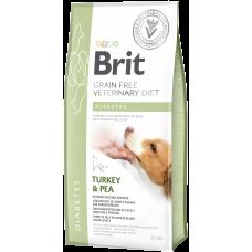 Brit VDD Grain Free Diabetes беззерновая диета с курицей и горохом при диабете у собак
