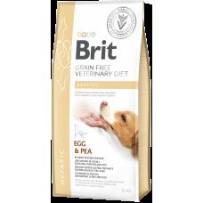 Купить Brit VDD Grain Free Hepatic беззерновая диета с яйцом и горохом при печеночной недостаточности у собак, способствует поддержке функции печени