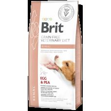 Купить Brit VDD Grain Free Renal беззерновая диета с яйцом и горохом при острой и хронической почечной недостаточности у собак